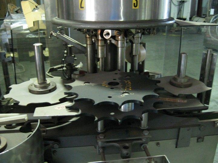 Image Consolidated Model D-4-F 4 Head Snap Capper 321216