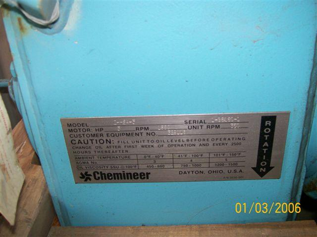 Image CHEMINEER Mixer - Never Used 321221
