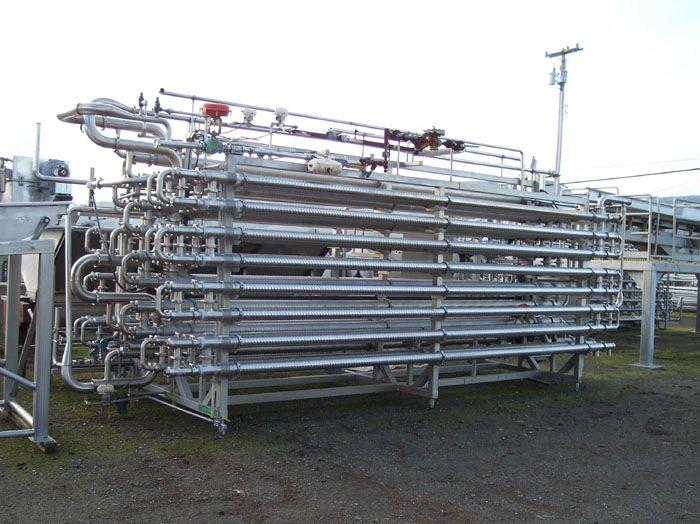 WAUKESHA CHERRY BURRELL Triple Tube Exchanger