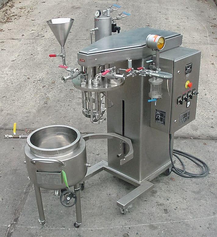 "BROGLI (Swiss) ""Multi-Homo"" Vacuum Homo Mixer"