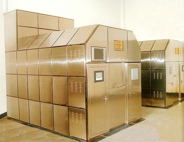 Human Crematories Retort