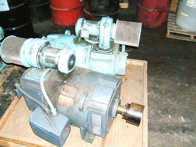 Image GE Kinamatic 50HP DC Motor Forced Vent 321376