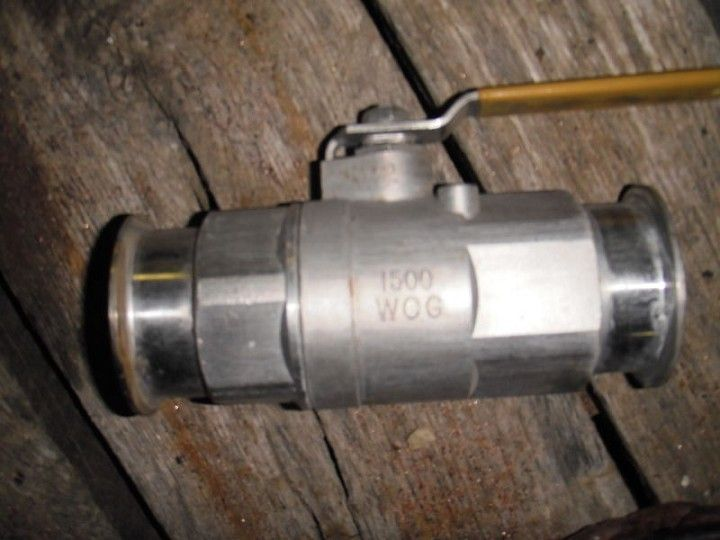 "Image 2"" Ball Valve, 316 Stainless, with Flanges 379264"