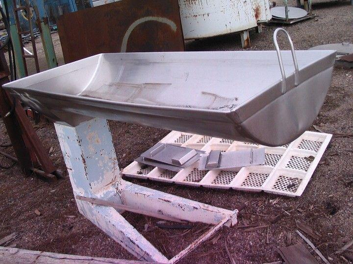 "Image GOSSELIN Stainless Steel Wash Tub 32"" x 6"