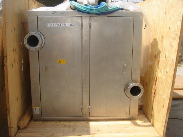 "Image 48"" GLATT GC-X 1000 Pro-Coater Coating Pan 321462"