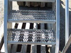 """Image Stainless Steel Stairs - 30"""" High 321517"""