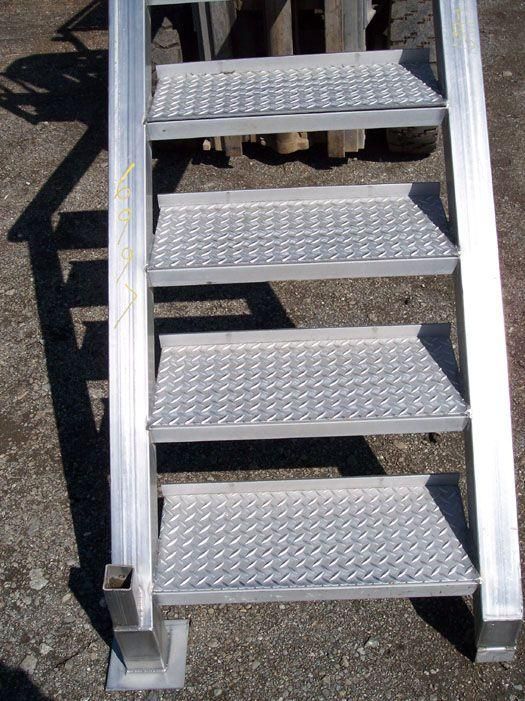 """Image 42"""" Stainless Steel Stairs 321521"""