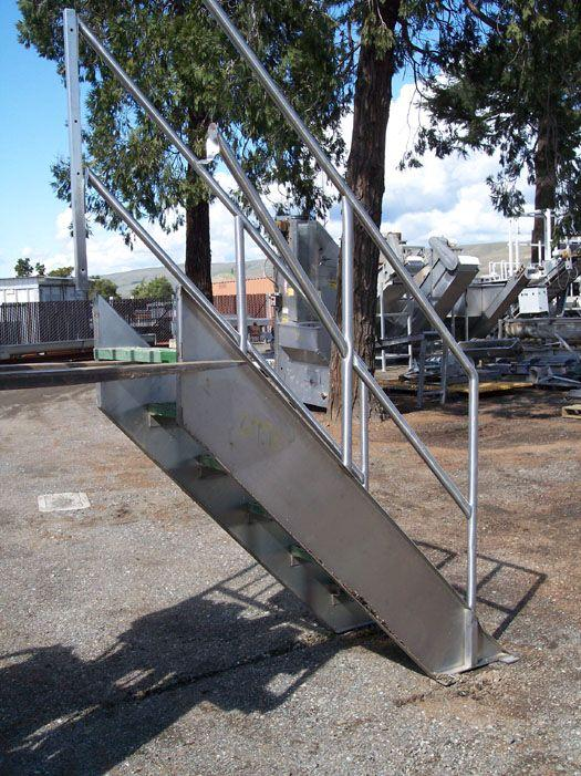 "Image 55"" Stainless Steel Stairs 321526"