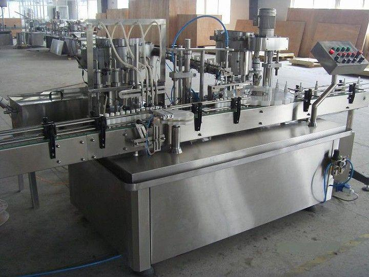 Automatic Spray Pump Filler Plugger Capper