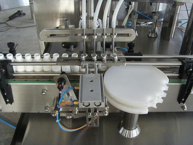 Image Automatic Spray Pump Filler Plugger Capper 321569