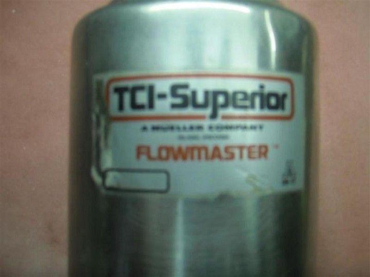 TCI-SUPERIOR Model K67-AL-2 Flowmaster Valve
