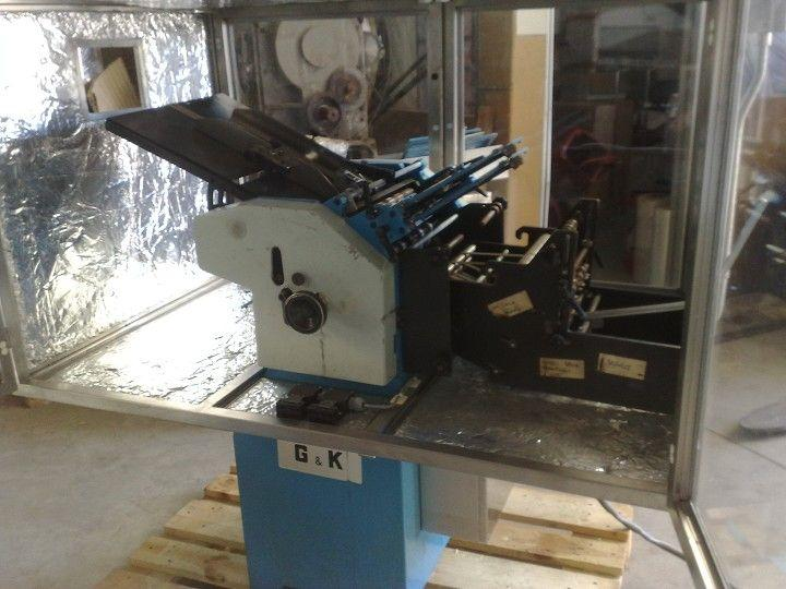 Image GUK FA 35/4 R1S2AS35 Folding Machine w/Protector 321661