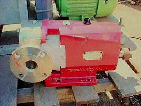 "2"" LOBEFLO Stainless Steel Displacement Pump"