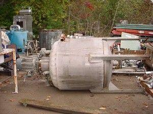 250 Gallon 304 Stainless Steel Jacketed Tank