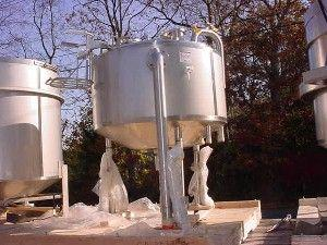 Image 185 Gallon INOX Nickle Alloy Jacketed Tank - UNUSED, Stainless Steel 321932