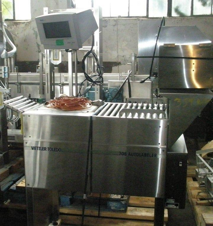 METTLER TOLEDO 706 Weigher-Labeler