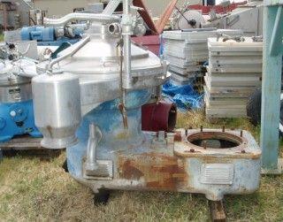 WESTFALIA SA82-47-1 Auto Desludger Centrifuge