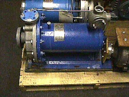 Image 7.5 HP CHEMPUMP S/S Seal Less Centrifugal Pump 322211