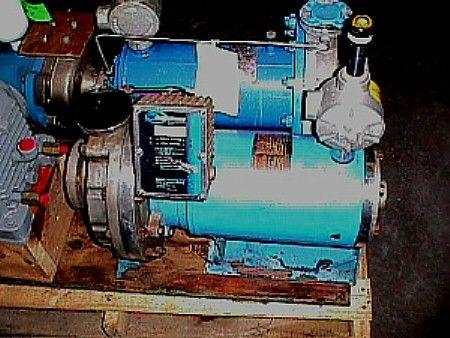 7.5 HP CHEMPUMP Seal Less Centrifugal Pump - Stainless Steel
