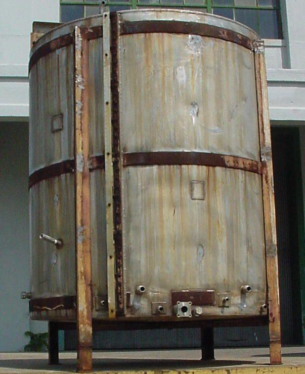 1000 Gallon Vertical S/S Tank