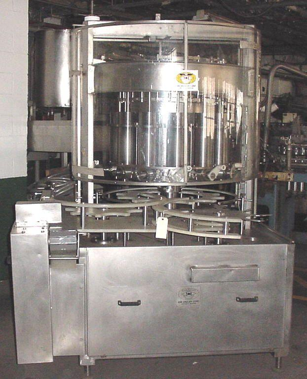 12-Head ENGLER Rotary Piston Filler
