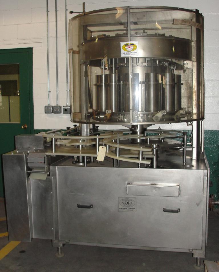 Image 12-Head ENGLER Rotary Piston Filler 1293291