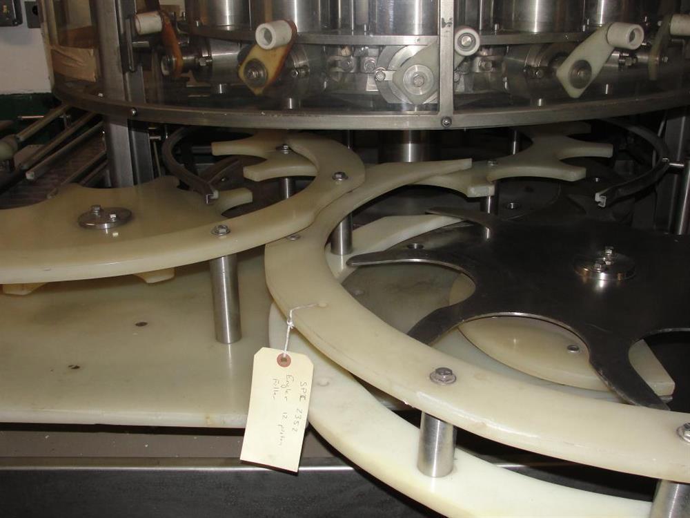 Image 12-Head ENGLER Rotary Piston Filler 1293294