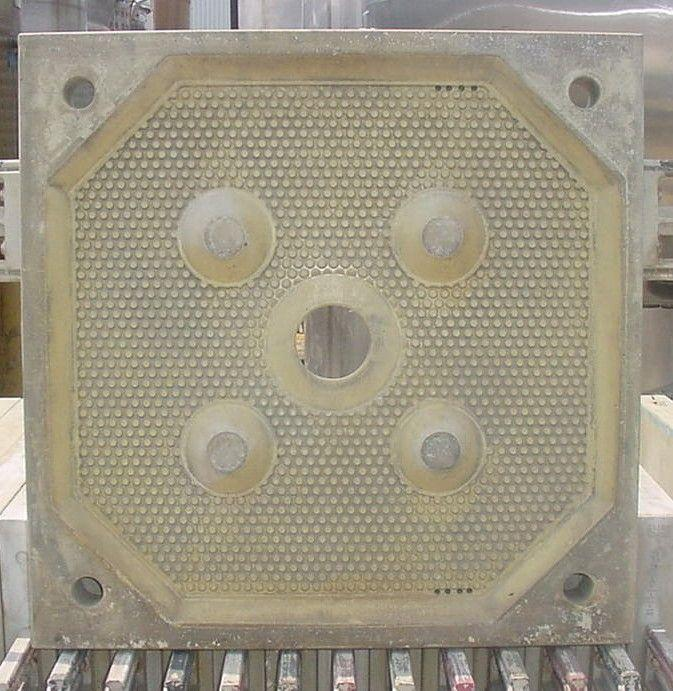 "Image 25"" PERRIN Recessed Plate Filter Press 322279"
