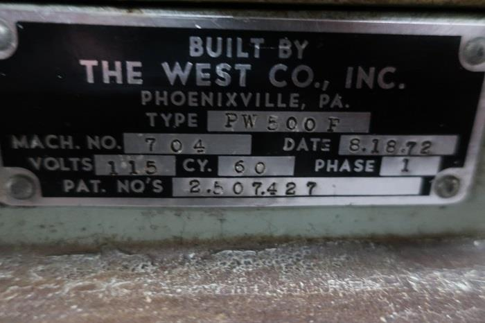Image WEST PW500F Pilfer-Proof Vial Capper 1331952