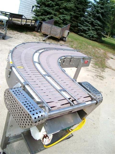 Image 90 Deg Turn Dual Lane Slat Top 10 inch Wide 322338