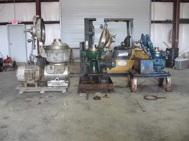 Image ALFA LAVAL MAB 204S-24 Centrifuge Separator 322470
