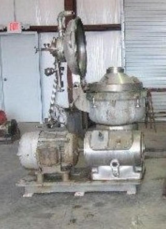 ALFA LAVAL SRG-214 Auto Desludger Centrifuge