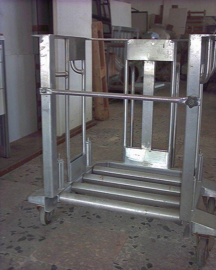 Image Stainless Steel Drum Lift 322602