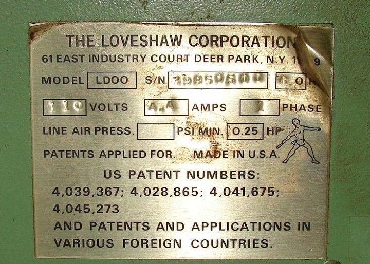 Image LOVESHAW LD00 Tape Case Sealer 322730