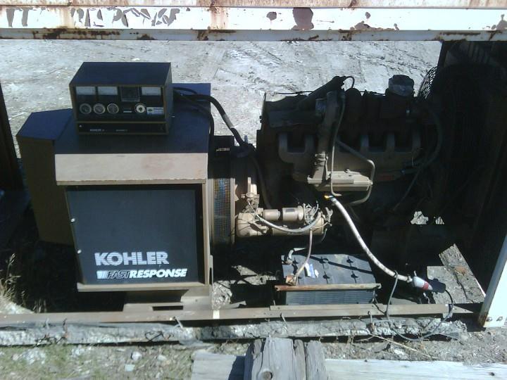 Image 125 kw KOHLER 125ROZ71 Diesel Powered Generator 322846
