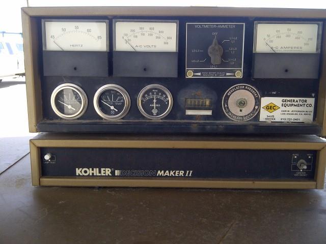 Image 125 kw KOHLER 125ROZ71 Diesel Powered Generator 525320