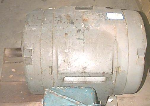 125 HP GENERAL ELECTRIC 3 Phase Motor