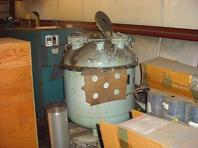Image 185 Gallon PFAUDLER Glass Lined Pressure Tank 323031