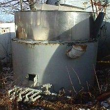 550 Gallon Gas Fired Tank - Stainless Steel