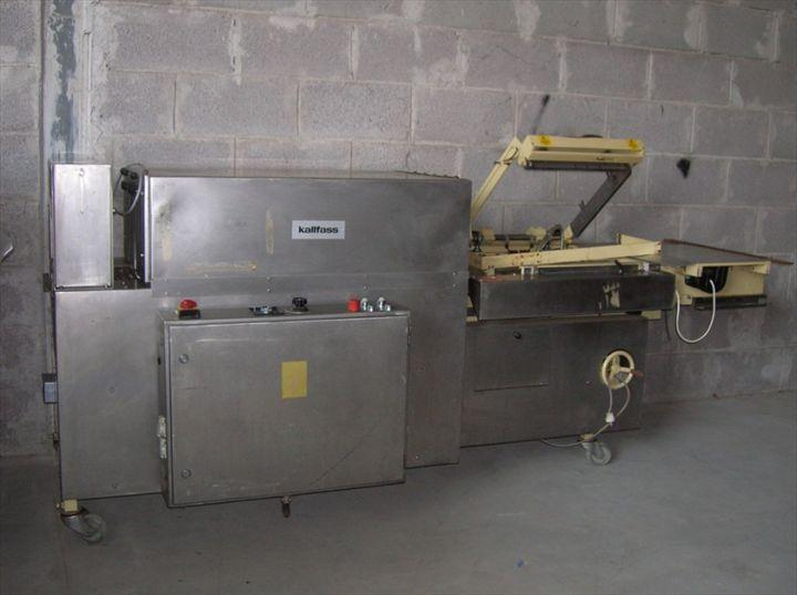 Image KALLFASS Sealer w/ Shrink Tunnel KC 5050/400 323277