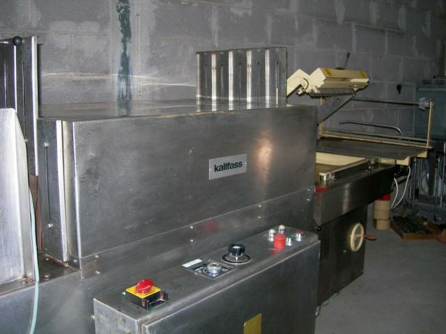 Image KALLFASS Sealer w/ Shrink Tunnel KC 5050/400 323278