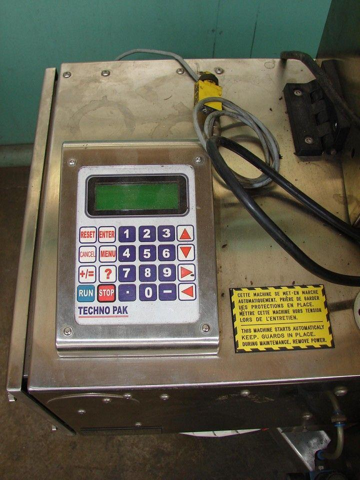 Image TECHNO PAK Wipe On Presure Sensitive Labeler 323301
