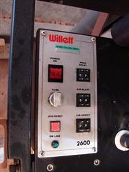 Image WILLETT Pressure Sensitive Tamp On Labeler 323308