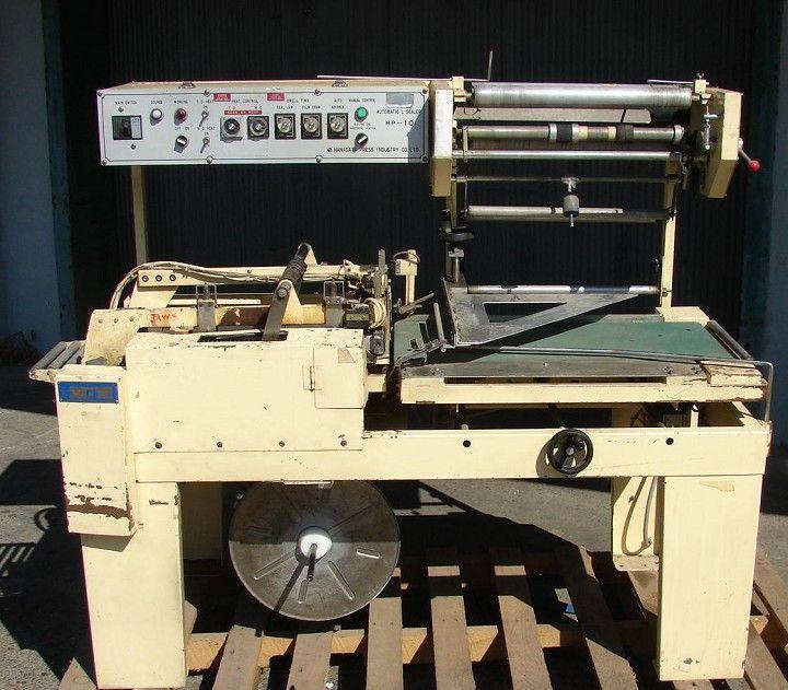 Image HANAGATA CORP Model HP-10 Automatic L Bar Sealer 323352