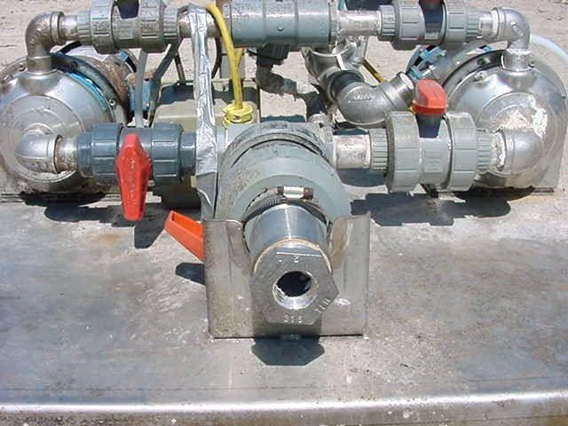 Image G&L A GOULDS Dual Centrifugal Pump 323407