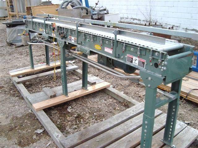 "12"" W x 120"" L HYTROL Powered Roller Conveyor"