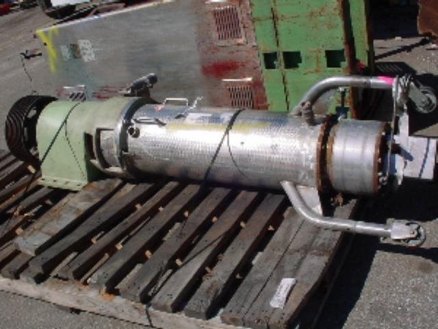 NETZSCH Stainless Steel Bead Mill, 75 HP