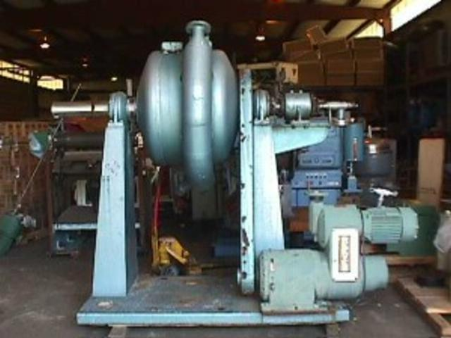PATTERSON Vacuum Ball Mill Reactor, 90 Gallon
