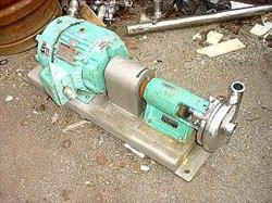 """Image TRI-CLOVER Stainless Steel Centrifugal Pump, 2"""" x 1.5"""" 323627"""