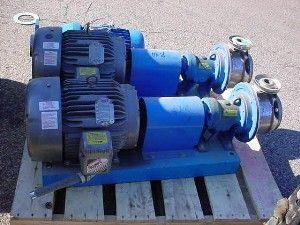"Image 2"" X 1.25"" GOULDS Stianless Steel Centrifugal Pump 7.5 Hp 323629"